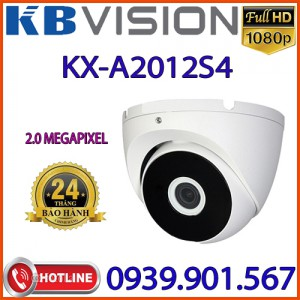 Lắp đặt Camera Dome 4 in 1 hồng ngoại 2.0 Megapixel KBVISION KX-A2012S4
