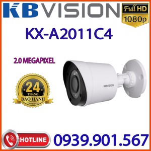 Lắp đặt Camera 4 in 1 hồng ngoại 2.0 Megapixel KBVISION KX-A2011C4