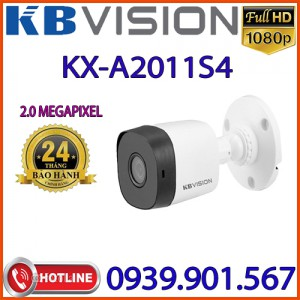 Lắp đặt Camera 4 in 1 hồng ngoại 2.0 Megapixel KBVISION KX-A2011S4